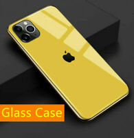 Luxury Tempered Glass Phone Case Cover For iPhone 11 Pro Max XS XR 6S 7 8 Plus X