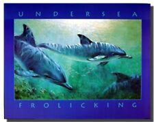 Sea Dolphin Underwater Ocean Sealife Animal Bathroom Wall Decor Art Print 16x20