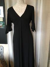 Gharani Strok Black Dress Size 14