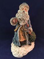 "June McKenna 1988 Bringing Home Christmas Santa ARTIST'S PROOF 10"" Tall"