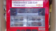 MICRO TRAINS N SCALE SPECIAL EDITION DISCONNECT LOG CAR SET RARE!