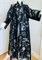ESKANDAR LONG COAT DUSTER CHINESE ASIAN RETAIL $3,250.00 ORIENTAL GORGEOUS SZ 0