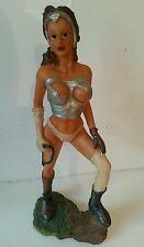 "Custom Figura - 10"" Custom made Action Figure FANTASY eroina di plastica giocattolo raro"