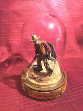 Franklin Mint Glass Domed John Wayne Movie Collectible- Ovo7601 Lasso/Branding