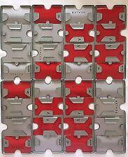 Vintage Metal Bridge Playing Card Holder Dealer Lot 8 No Damage Trays 1-8 Boards