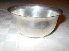 TIFFANY & CO. SMALL FOOTED BOWL STERLING SILVER