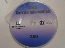 2015 CHRYSLER 300 Service INFORMATION Shop Repair Workshop Manual CD OEM New