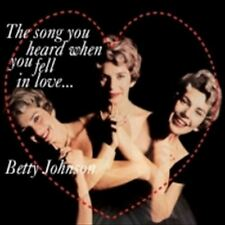 BETTY JOHNSON/THE SONG YOU HEARD WHEN YOU FELL IN LOVE(ltd.paper sleeve [CD])