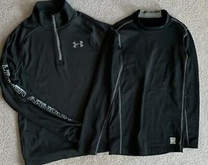 Under Armour Pullover Nike PRO COMBAT Compression Shirts Boys LG Activewear