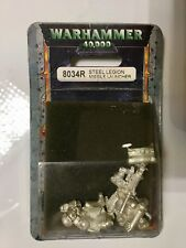 WARHAMMER 40K STEEL LEGION MISSILE LAUNCHER  ITEM 8034R NEW FACTORY SEALED RARE!