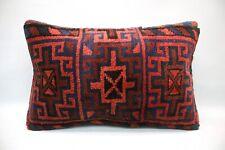 """Rug Lumbar Pillow, 16""""x24"""", Accent Pillow, Throw Pillow, Decorative Pillow,"""