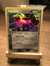 Mightyena 24/113 EX Delta Species MINT Gold Name Pokemon Card