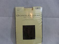 Donna Karan Organza/Voile Control Top Pantyhose Sz Medium Hosiery Chocolate New