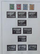 Französisch Andorra Sammlung 1961 bis 1977 auf Safe Blätter postfrisch 15 Bilder