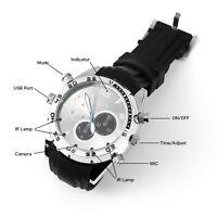 Spy Watch DV Camera Waterproof 16G 1080P HD Wrist Digital Video DVR Camcorder
