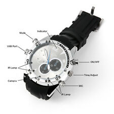 Spy Watch Camera Waterproof 16G 1080P HD Wrist DV Digital Video DVR Camcorder