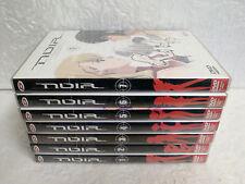 Lot 7 DVD NOIR Intégrale Dybex Bee Train Anime Manga Nadia Secret de l'Eau Bleue