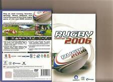 Rugby Challenge 2006 PLAYSTATION 2 PS2 PS 2