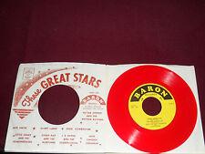 "JACK LINCOLN COUGHLIN ""Crazy Arms"" Baron EP 503 Red Wax!"