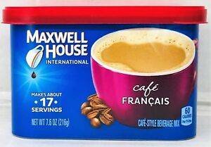 Maxwell House International Café Francais Cafe Style Beverage Mix 7.6 oz