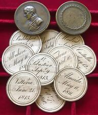 The Duke Of Wellington, British Victories 1808-1815. Medal Box With 12 Inserts.
