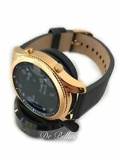 24K GOLD Plated Samsung Gear S3 Classic Smart Watch CUSTOM RARE