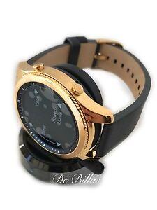 24K GOLD Plated Samsung Gear S3 Classic Smart Watch CUSTOM RARE