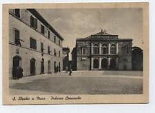 cartolina S.ELPIDIO A MARE palazzo comunale