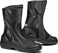 Sidi Aria Waterproof GT Gore-Tex Touring Motorbike Motorcycle Boots - Black