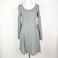 Max Studio Weekend Gray Sweatshirt Dress Size Small Lounge Comfy