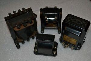 Vintage Ferranti Varley RI 1920/30's radio transformers x 4