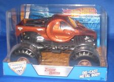 HOT WHEELS MONSTER JAM  MONSTER TRUCK ZOMBIE HUNTER 1:24 OFF ROAD DIE CAST BODY