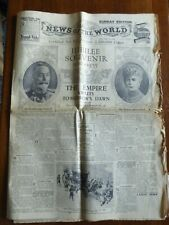 More details for jubilee souvenir newspaper news of the world may 5th 1935