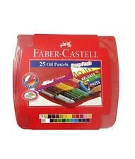 Faber Castell 25 Set Oil Pastels Set Crayons Gold & Silver Oil Pastel