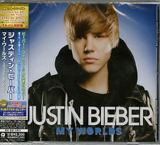 JUSTIN BIEBER-MY WORLDS: SPECIAL EDITION-JAPAN CD E50