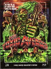 The Toxic Avenger , 3 Discs limited Mediabook , 100% uncut , Atomic Hero ,sealed
