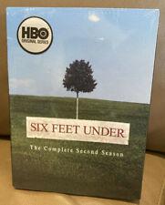 Six Feet Under - The Complete Second Season (DVD, 2004, 5-Disc Set) Brand NEW
