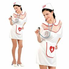 Sexy Naughty Nurse Uniform Halloween Cosplay Womens Fancy Dress Up Party Costume