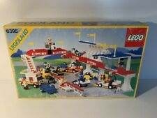 Lego System Town Victory Lap Raceway 6395 with BOX & PLAN (01613)
