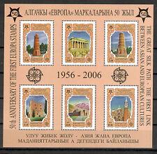 Kirgistan Michelnr Block 44 A postfrisch (intern: 50 Jahre Cept:56)