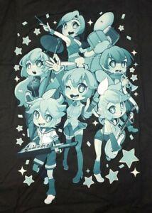 Hatsune Miku 2016 Expo Unisex T-Shirt Anime Tee Size Large RARE (SEE DETAILS)