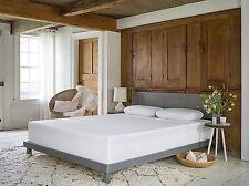 "10"" Twin Size Adaptive Pad Memory Latex Foam Mattress Topper Bed Upholstery"
