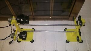 3 ROD DRYER DRYING 6 RPM ROD BUILDING WINDING ROLLER SUPPORTS WRAPPING 110V USA