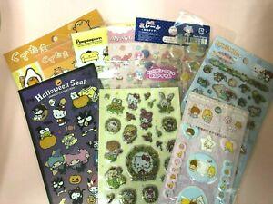 Kawaii Sanrio stickers sheet Japan