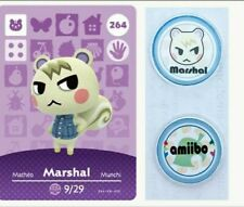 Marshal (264) Series 3 ✨Animal Crossing Amiibo Cards/Coins✨