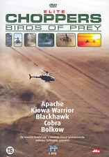 ELITE CHOPPERS - BIRDS OF PREY - HELICOPTER ESKADERS - 2 DVD - SEALED