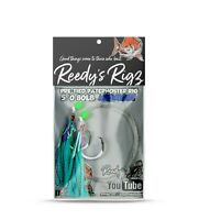 4x Snapper Rigs Fishing Rigs Paternoster  6/0 Mixed Color Surf Bait Reedys
