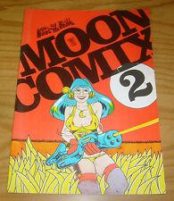 Moon Comix #2 VF- british underground comix - hunt emerson - doug hansen  ar-zak