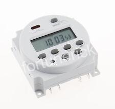 DC 24V Digitaler LCD Timer Programmierbar Zeitschaltuhr Zeitschalter CN101 16A