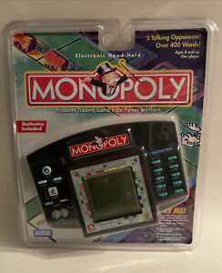 Vintage 1997 Monopoly Electronic Handheld Game Hasbro Parker Brothers NEW SEALED